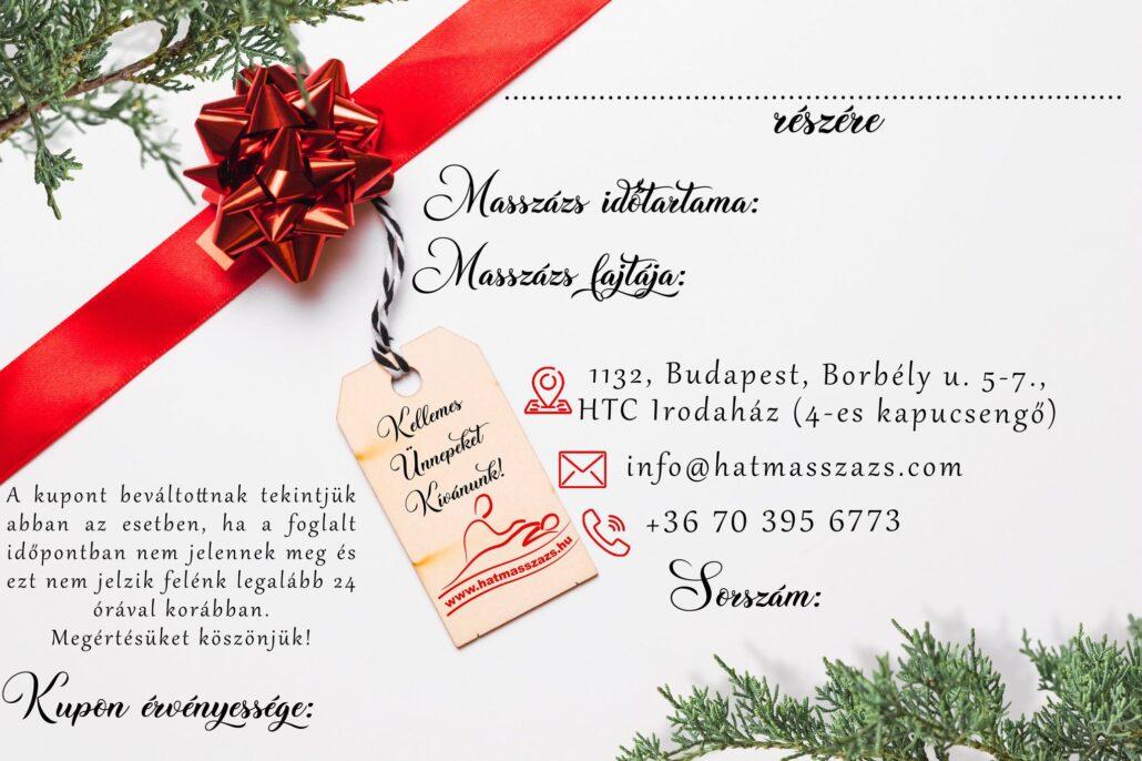 Páros masszázs kupon, hátmasszázs.hu, Budapest